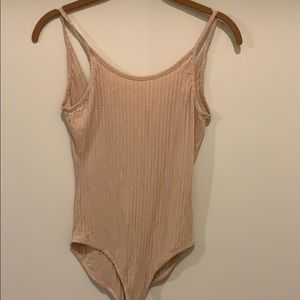 Nude urban outfitters bodysuit